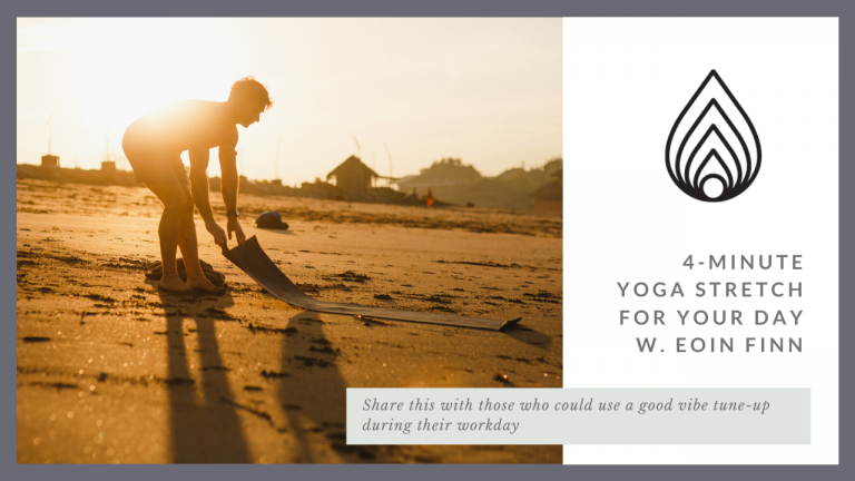 4-Minute Yoga Stretch for Your Day
