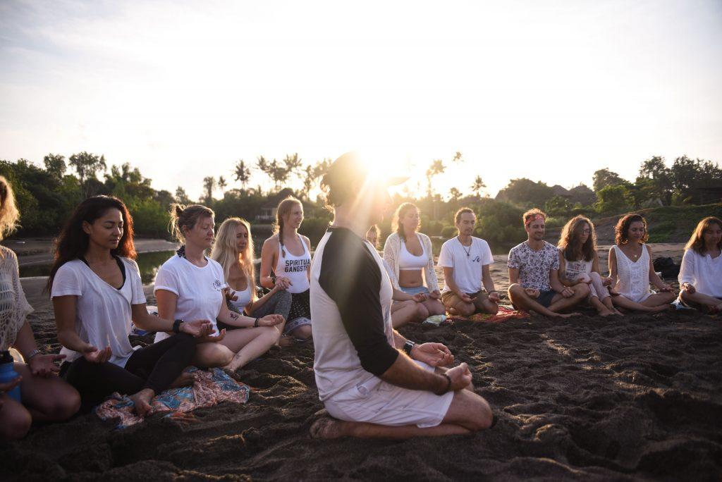 Bali Beach Meditation